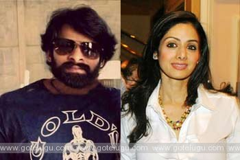 is sridevi as mother of prabhas