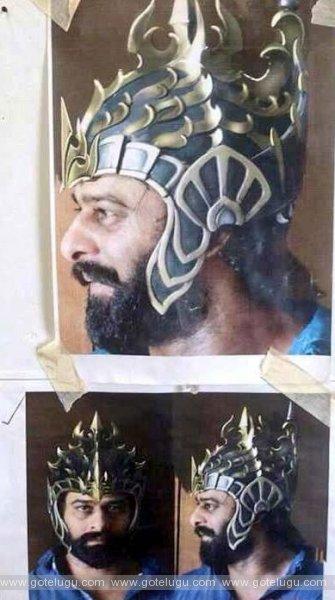 hero prabhas beard