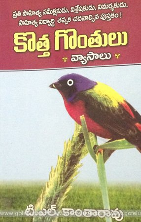 Book Review - kotta gonthulu