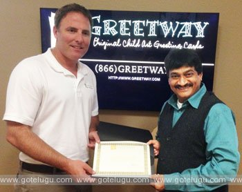 Dr.Ghajal Srinivas Appointed as brand ambassador for greetway america