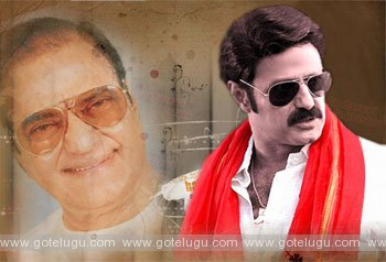 balakrishna recent  film biographies of the late NTR?