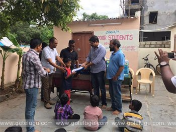 okamanasu unti helps to poor students