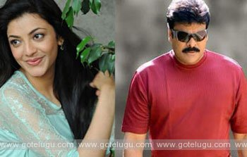 kajal act chiru movie