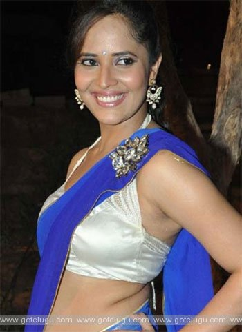 anasuya ready to item songs
