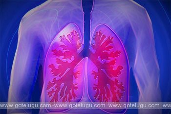 food roal in lungs breathing  desease