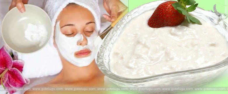 curd face pack