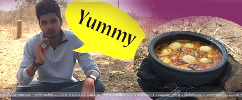 Yummy Egg Curry - Village Style