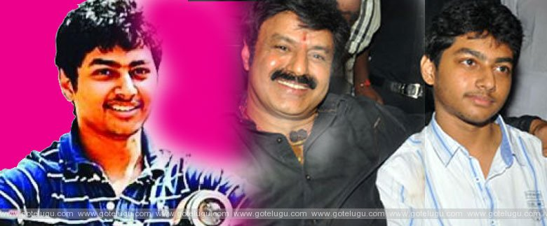 balakrishna son enter in flim idustry
