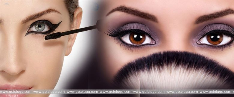 (Eye Care While Using Cosmetics)