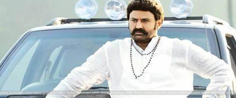 balayya in  jai simha  making
