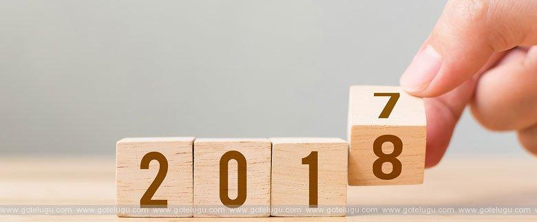In 2018 we ...