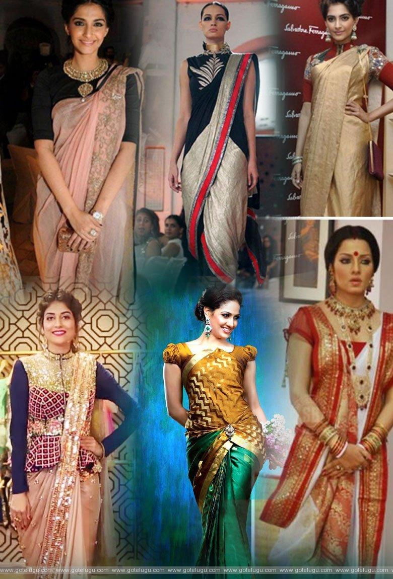 sarees styles