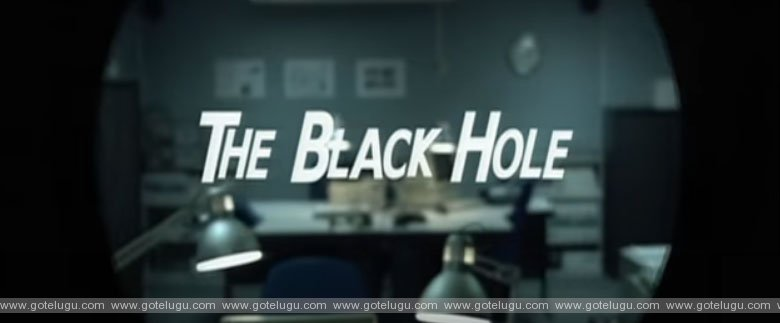 the black hole short flim