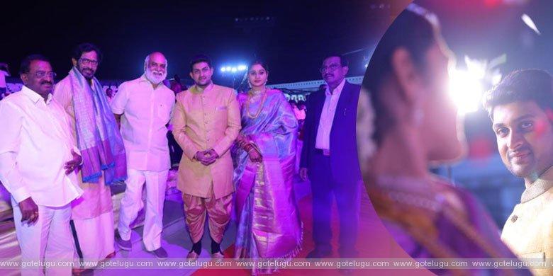 Kaushik Babu and Ratnaprabala's wedding