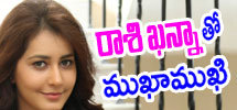 interview with rashi khanna