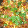 egg burji type curry but different!