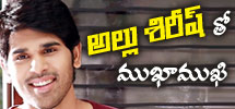 interview with allu sirish