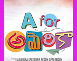 Madhura Sreedhar's Next- A For America