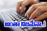 online is true?