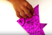 Paper CraftLearn to make Fish with paper|Learn to do Step by step