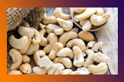 Benefits of cashew nuts ..