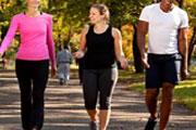 Walk fast .. stay healthy