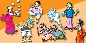 Telugu Cartoons of Gotelugu Issue No 198