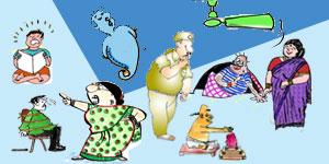 Telugu Cartoons of Gotelugu Issue No 199