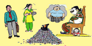 Telugu Cartoons of Gotelugu Issue No 232