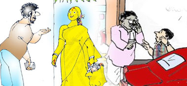 Telugu Cartoons of Gotelugu Issue No 331