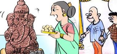 Telugu Cartoons of Gotelugu Issue No 334